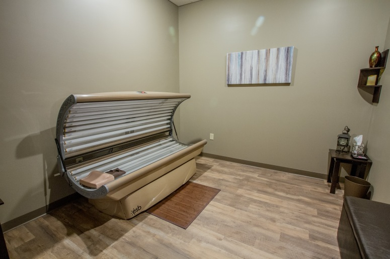 Red Light Therapy Room