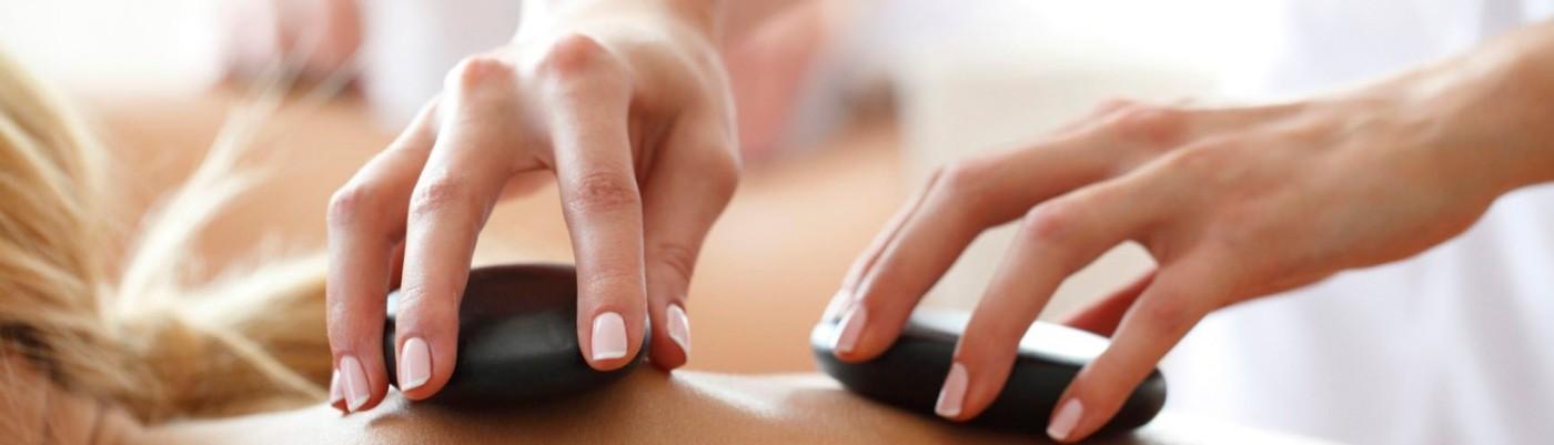 Spa Hot Stone Massage Therapy Day Spa
